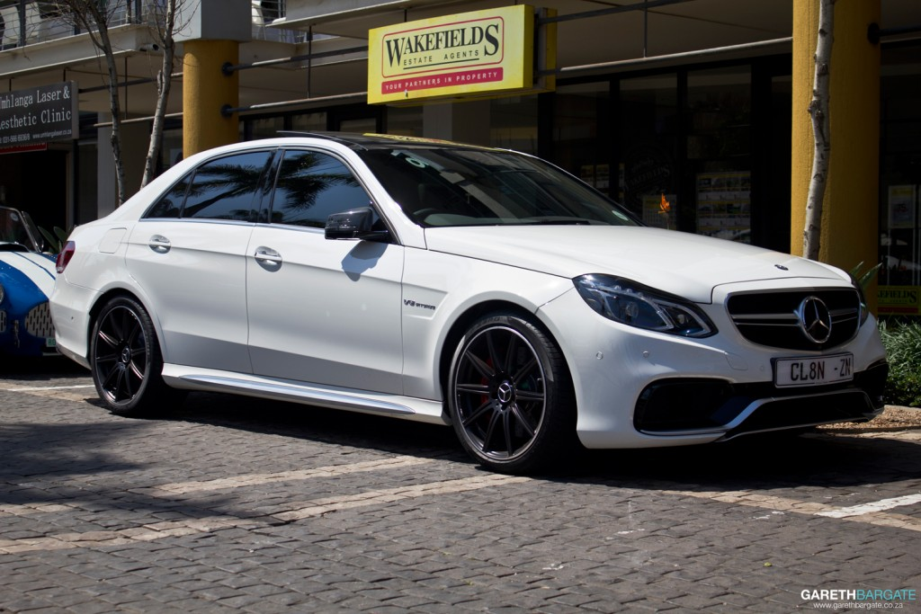 And even more German flavour, in the form of this E63 AMG. With a twin-turbo V8, this 4 door sedan could easily give the more exotic sportscars something to worry about
