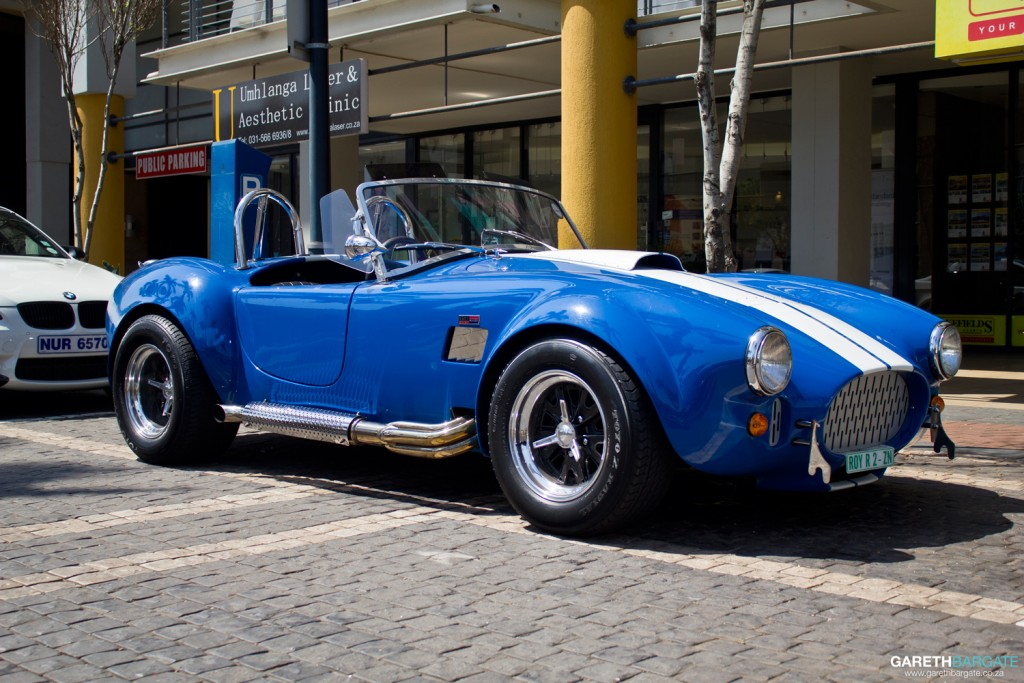 Something a little different from the Italian supercar onslaught, heres an AC Cobra