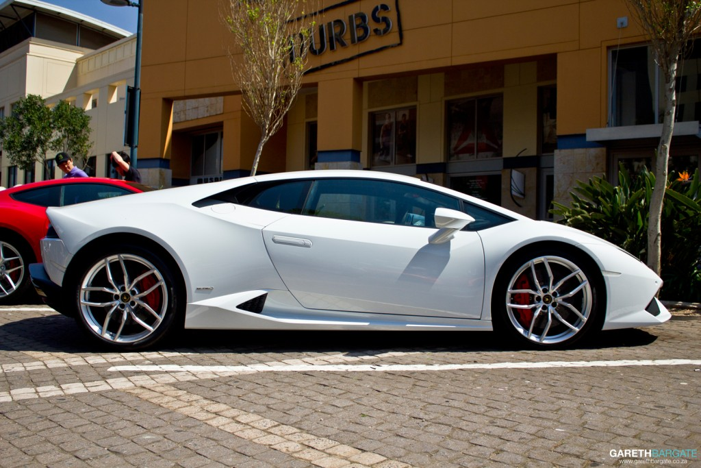 The new Lamborghini Huracan. Quite possibly the first on the road in KZN