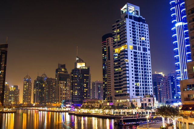 Long Exposures And Longer Walks Around The Dubai Marina